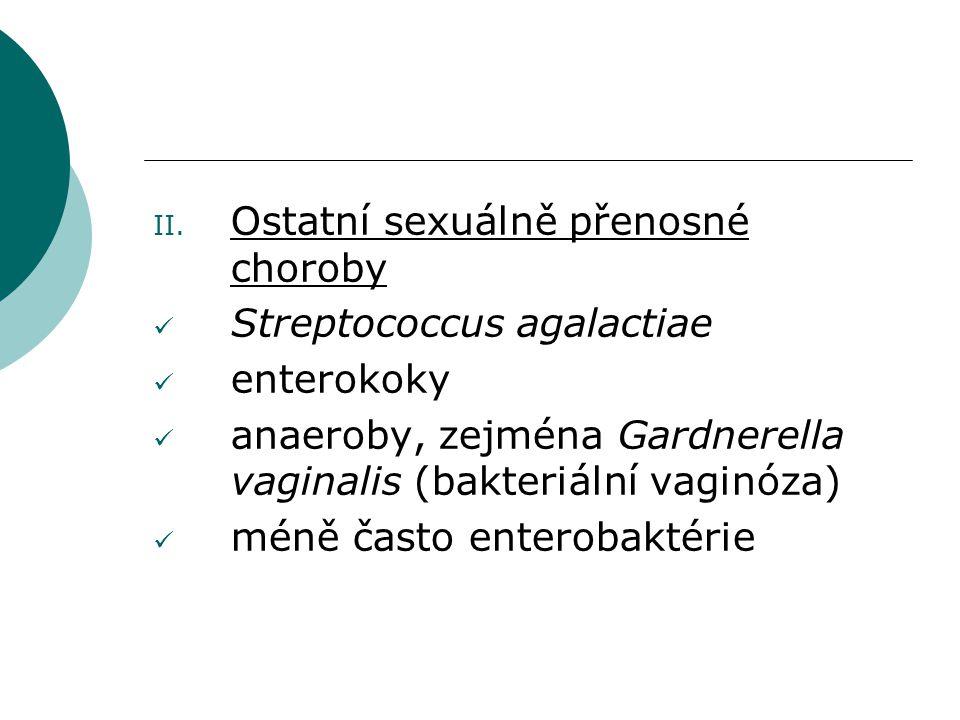 Ostatní sexuálně přenosné choroby