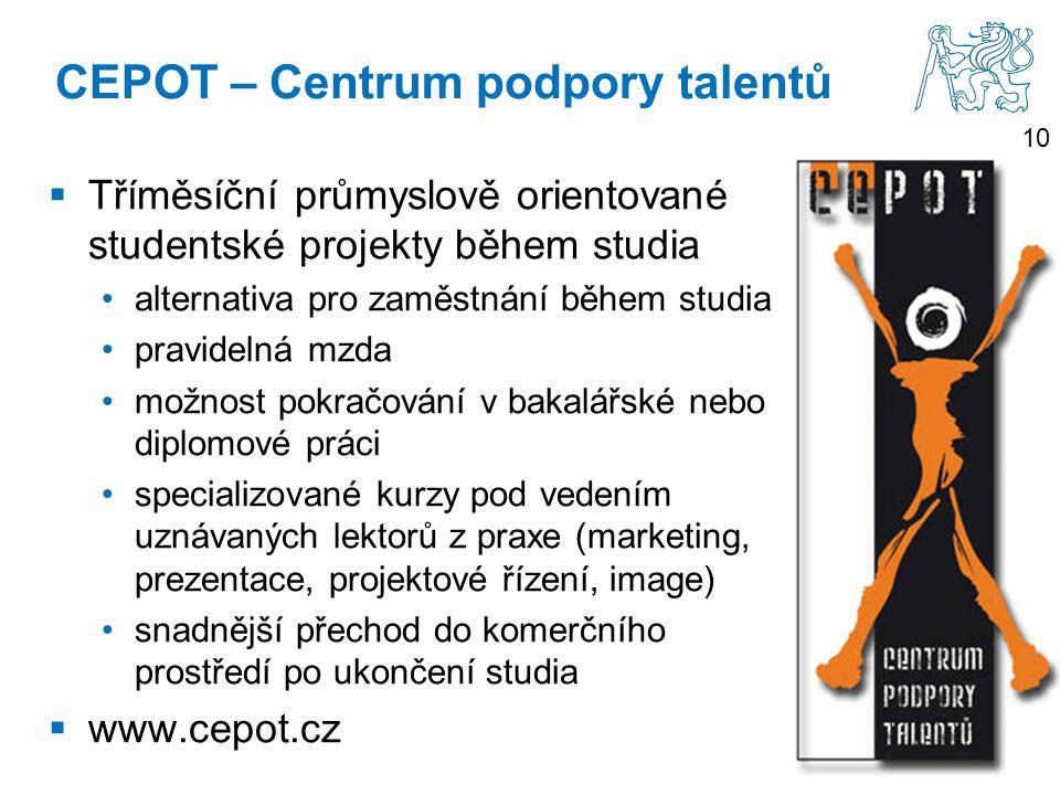 CEPOT – Centrum podpory talentů