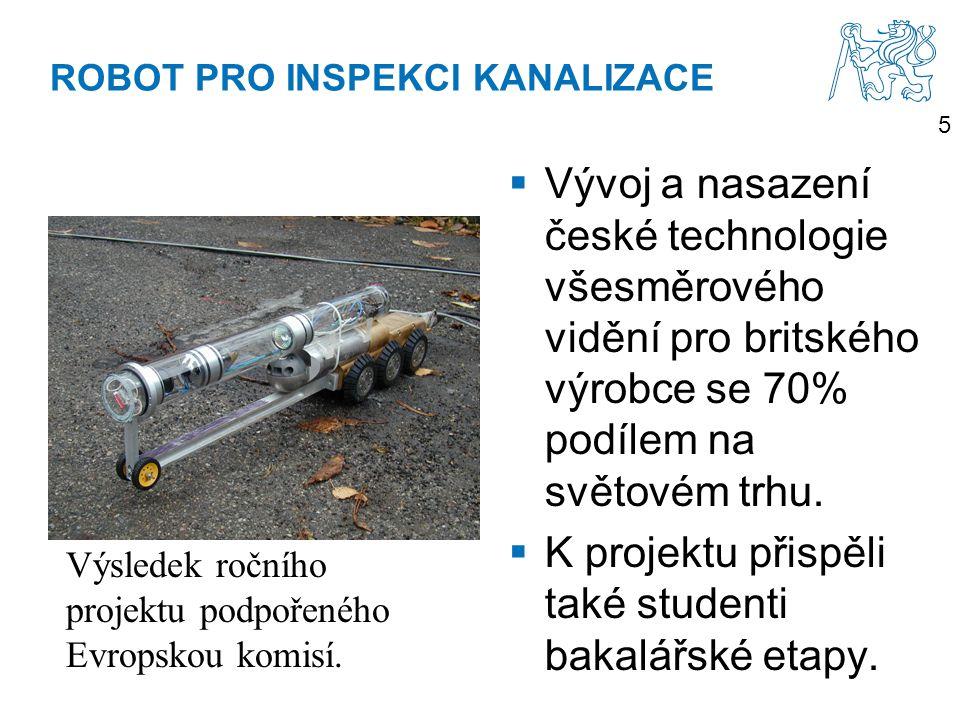 ROBOT PRO INSPEKCI KANALIZACE