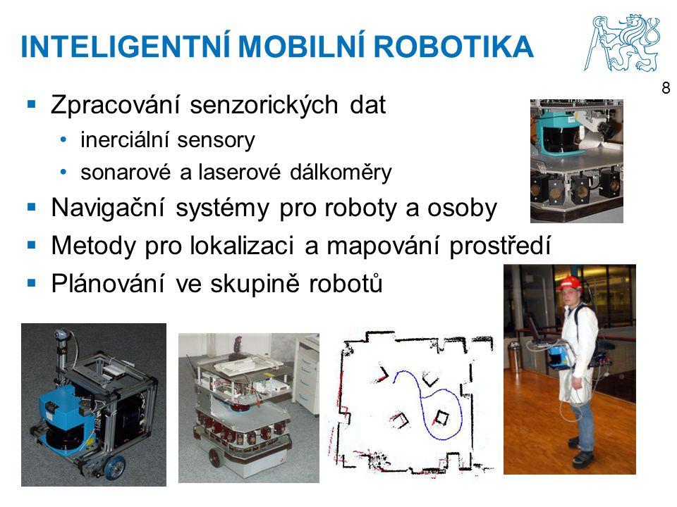 INTELIGENTNÍ MOBILNÍ ROBOTIKA