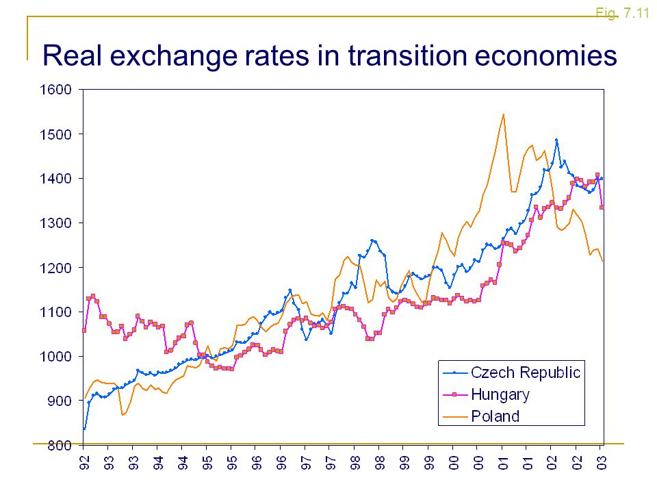 Real exchange rates in transition economies