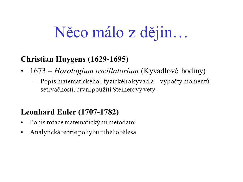 Něco málo z dějin… Christian Huygens (1629-1695)
