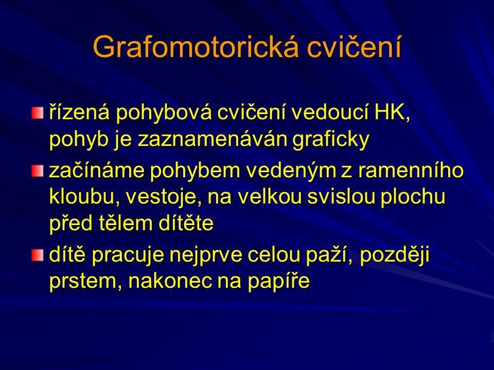 Grafomotorická cvičení