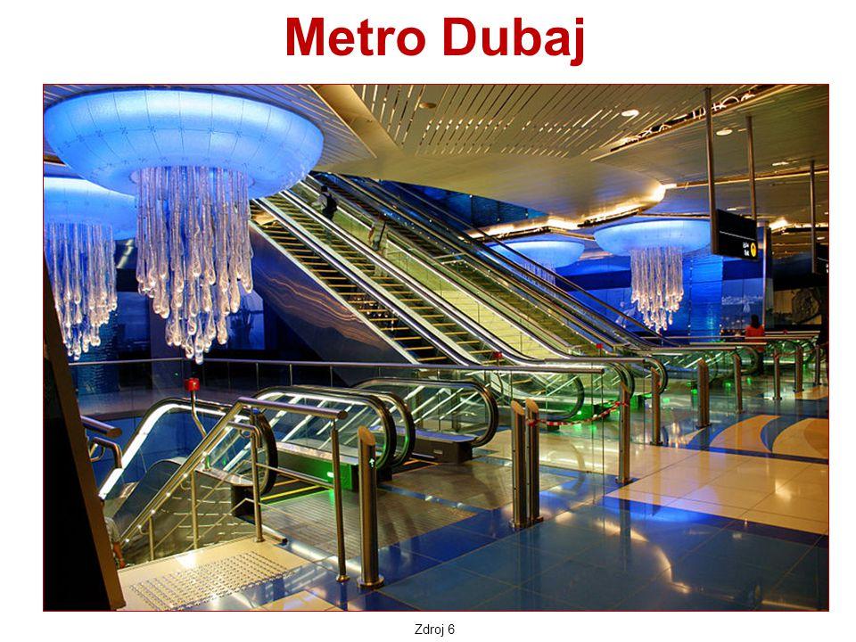 Metro Dubaj Zdroj 6