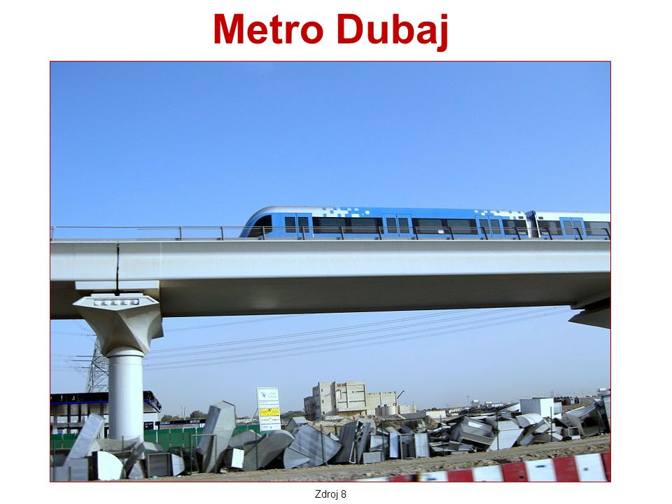 Metro Dubaj Zdroj 8
