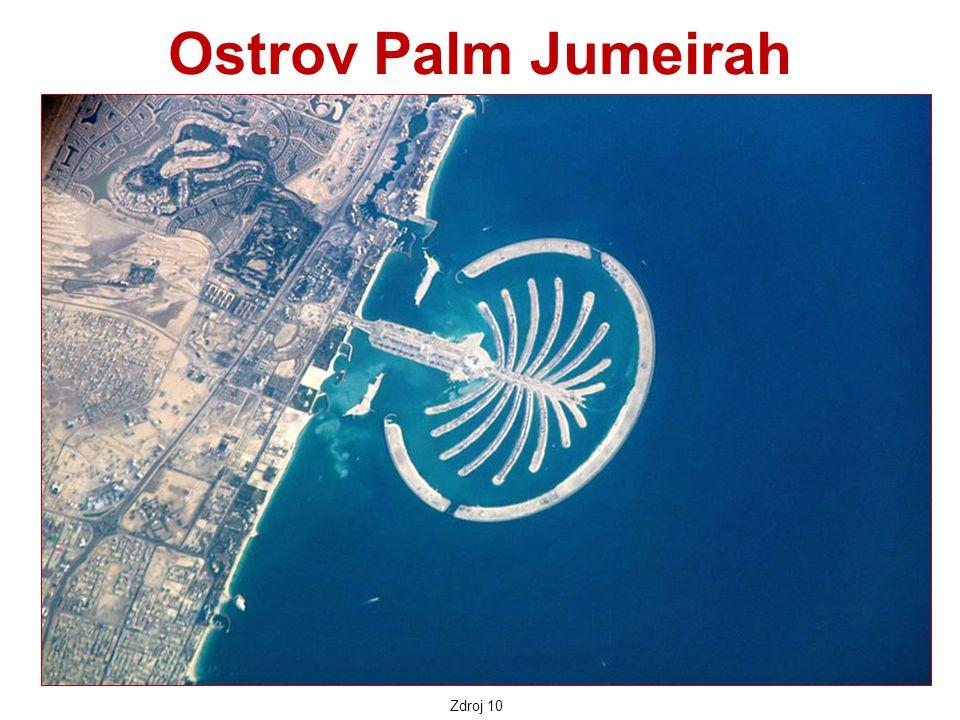 Ostrov Palm Jumeirah Zdroj 10