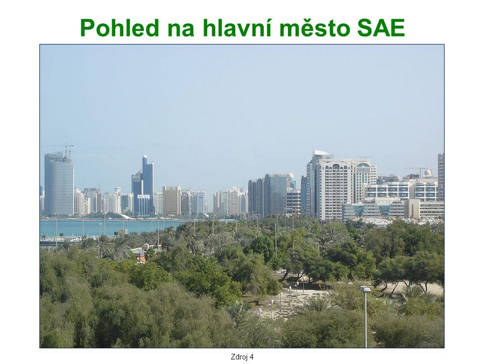 Pohled na hlavní město SAE
