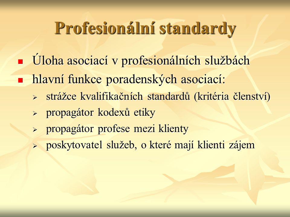 Profesionální standardy