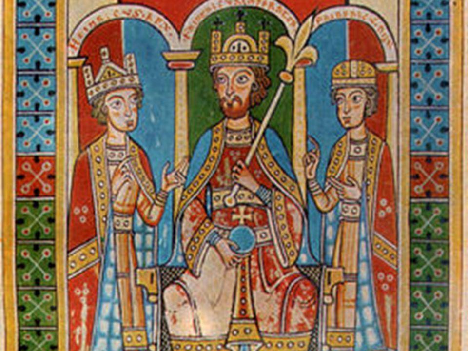 Friedrich Barbarossa se svými syny