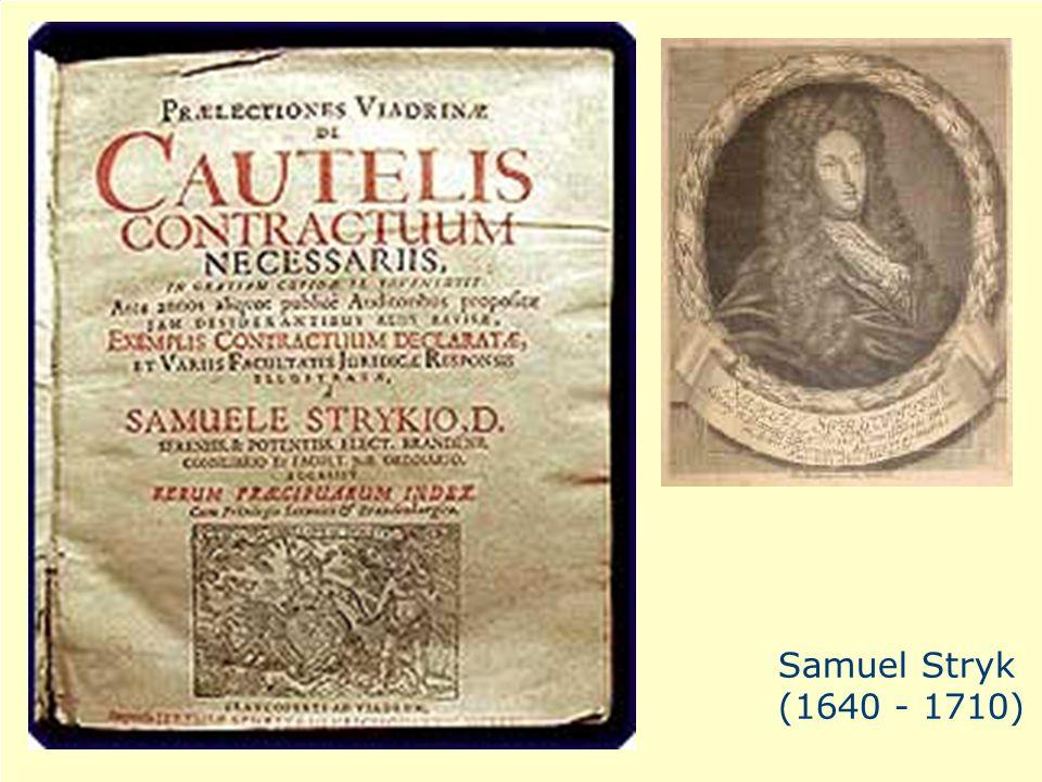 a Samuel Stryk (1640 - 1710)