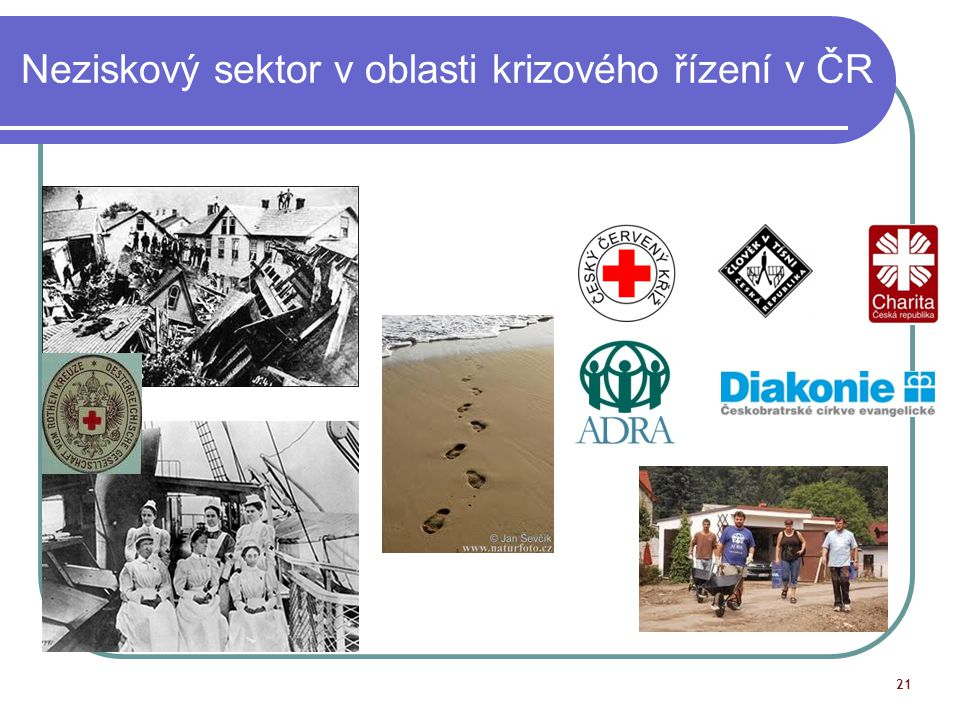 Neziskový sektor v oblasti krizového řízení v ČR