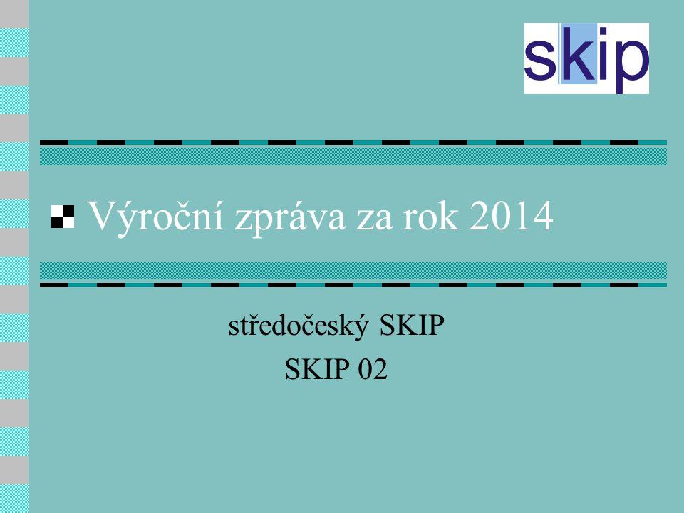 Výroční zpráva za rok 2014 středočeský SKIP SKIP 02