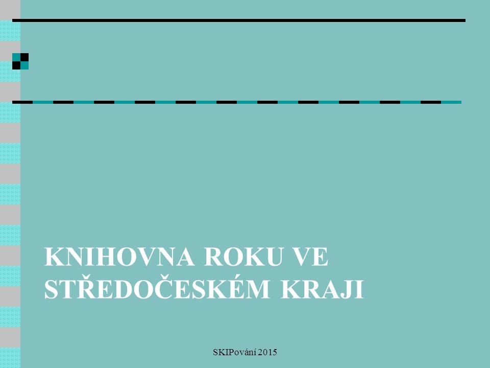 Knihovna roku ve Středočeském kraji