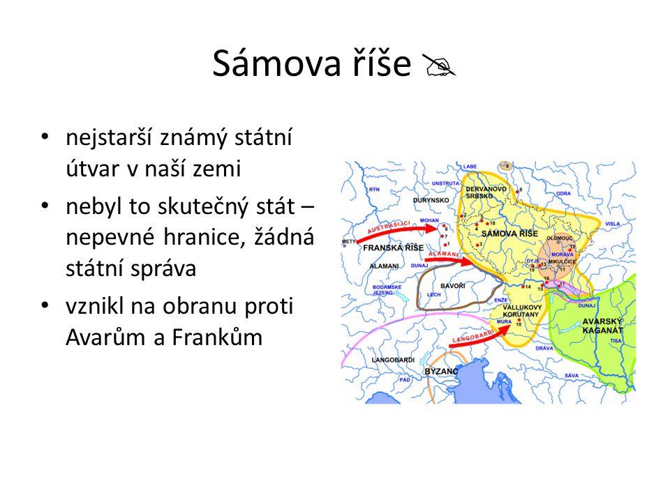 Sámova říše  nejstarší známý státní útvar v naší zemi