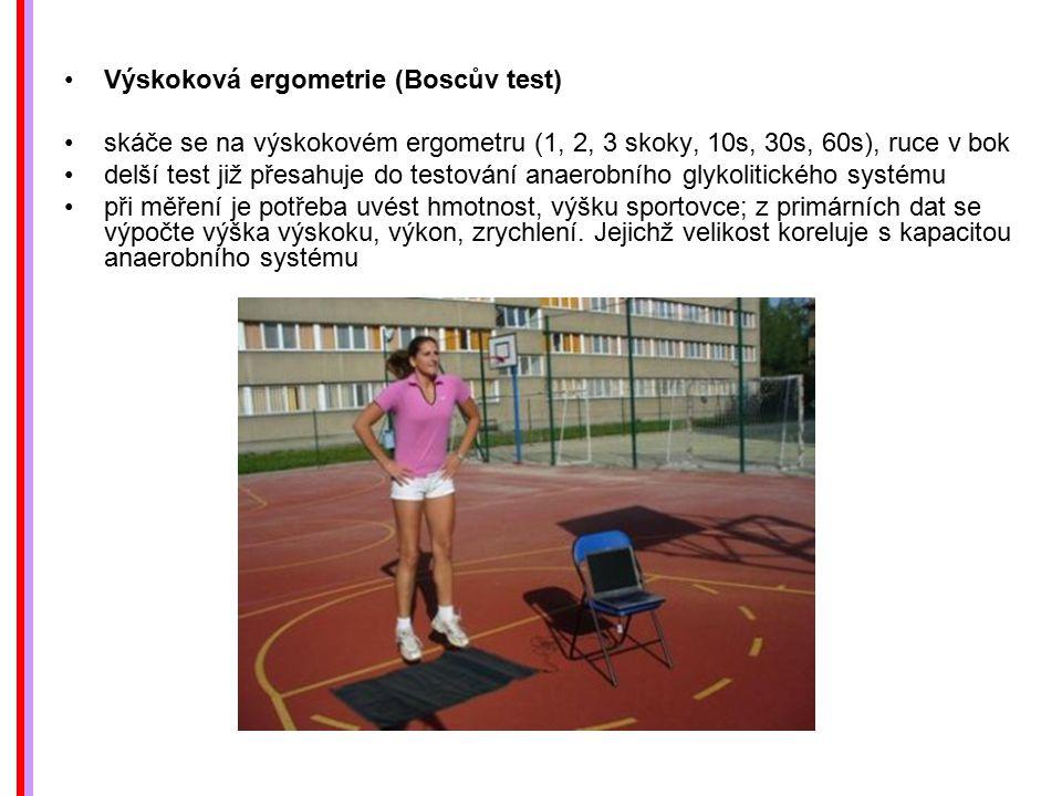 Výskoková ergometrie (Boscův test)