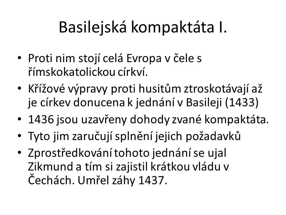 Basilejská kompaktáta I.