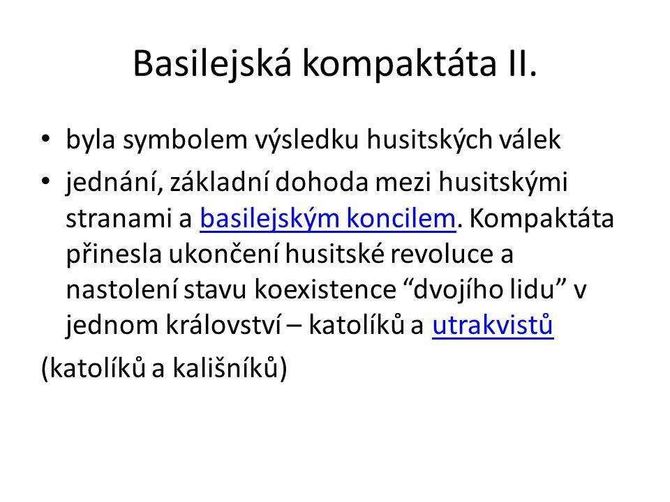 Basilejská kompaktáta II.