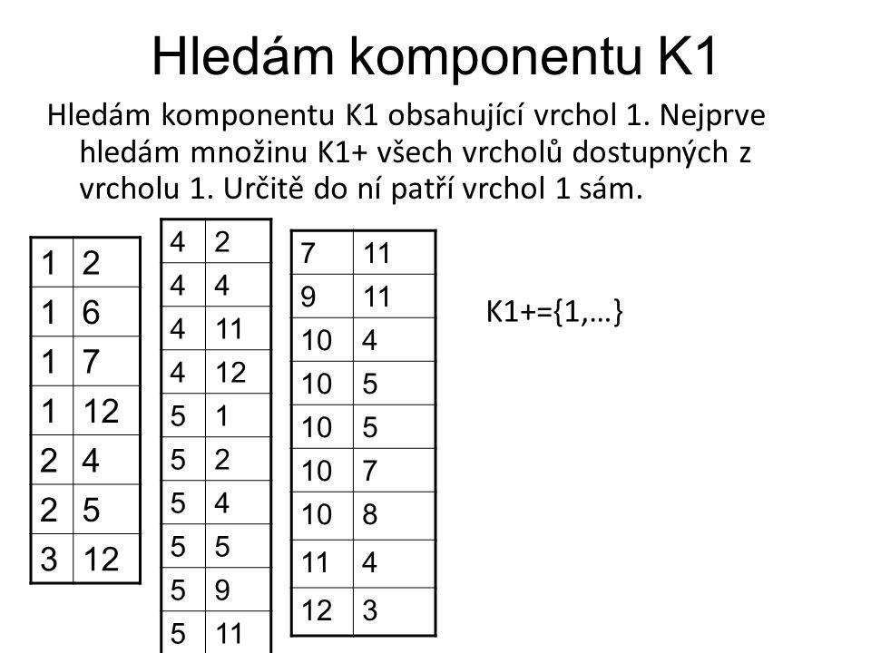 Hledám komponentu K1