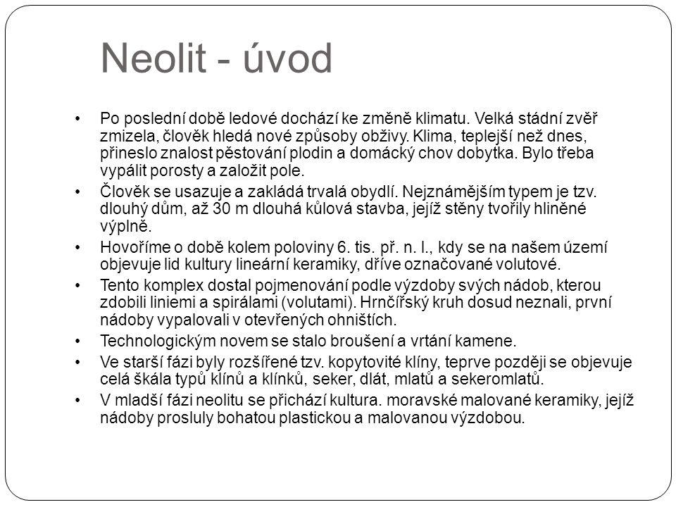 Neolit - úvod