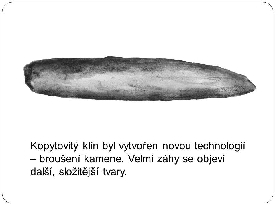 Kopytovitý klín byl vytvořen novou technologií – broušení kamene