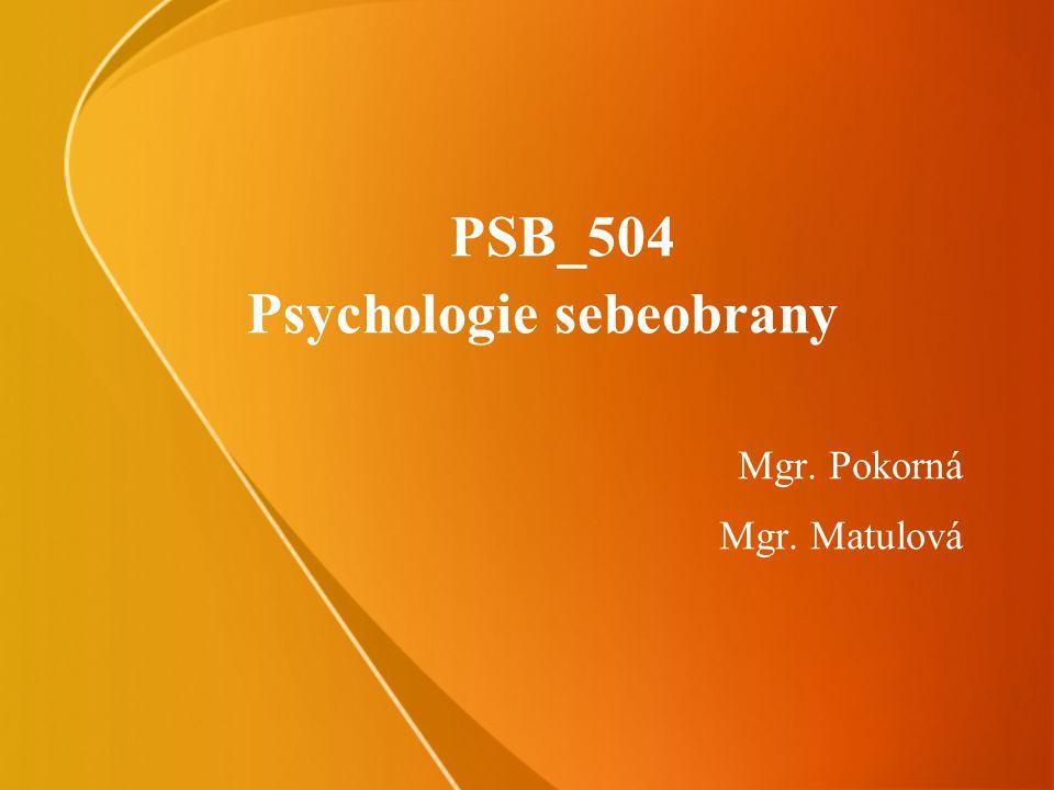PSB_504 Psychologie sebeobrany