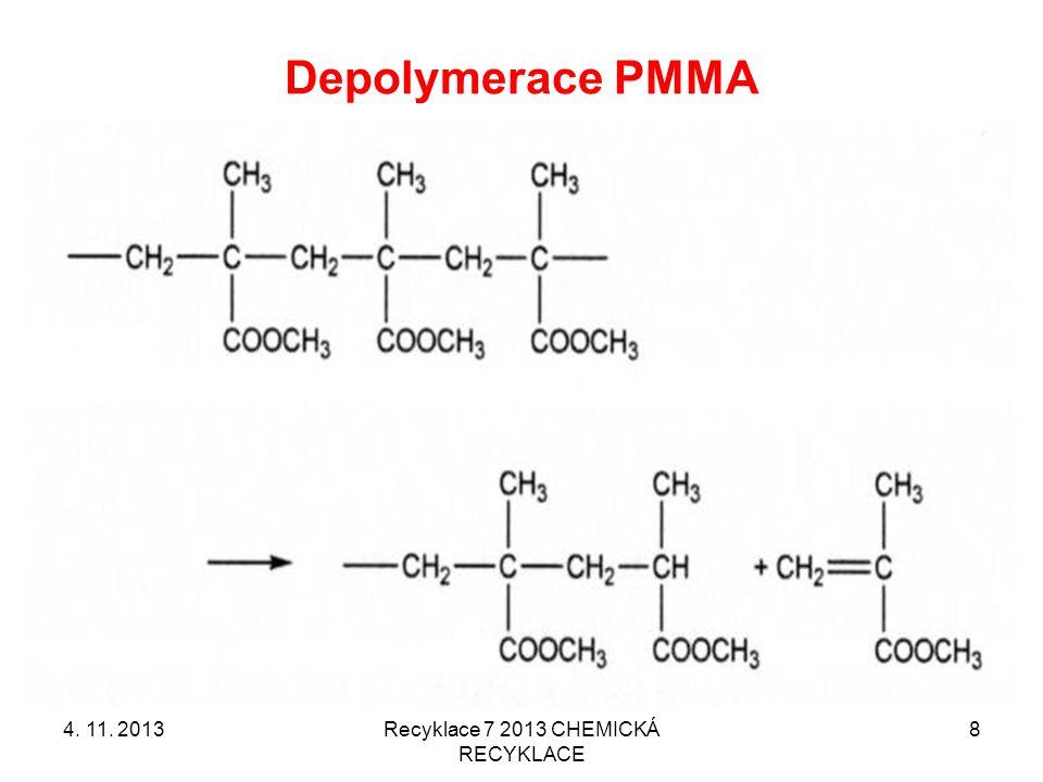 Recyklace 7 2013 CHEMICKÁ RECYKLACE