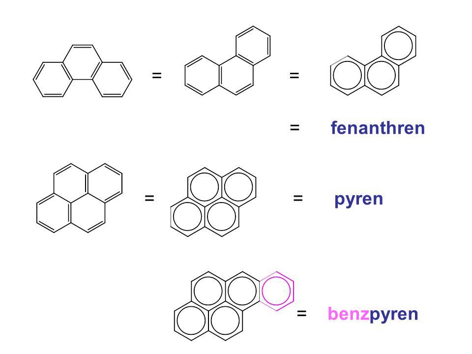 = = = fenanthren = = pyren = benzpyren