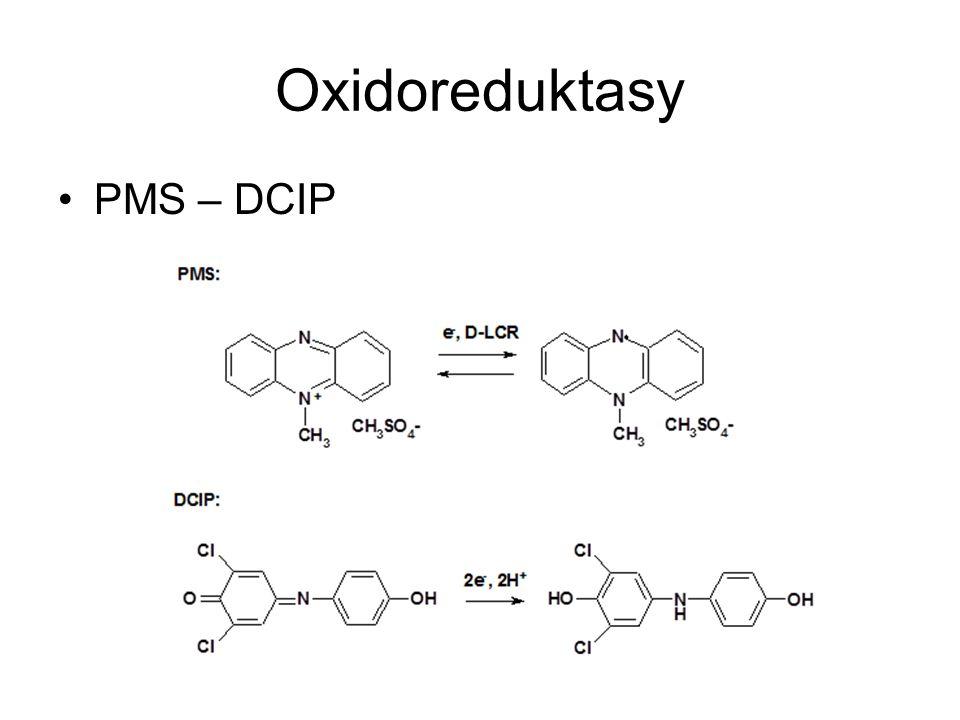 Oxidoreduktasy PMS – DCIP