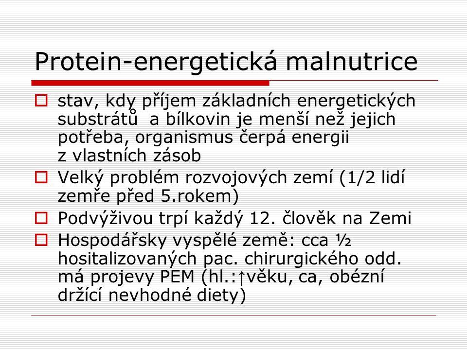 Protein-energetická malnutrice