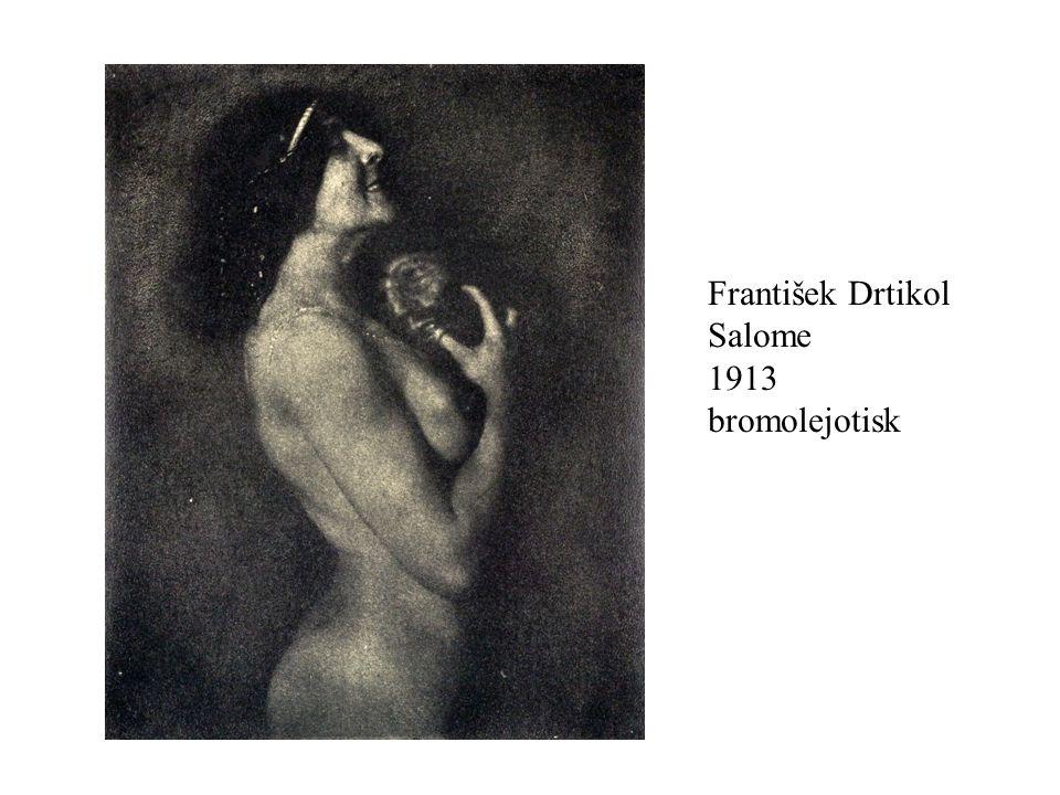 František Drtikol Salome 1913 bromolejotisk