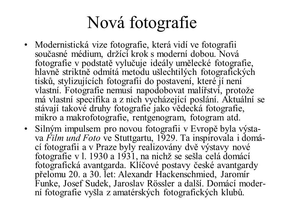 Nová fotografie