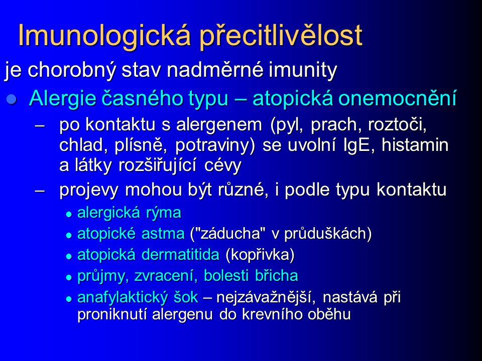 Imunologická přecitlivělost