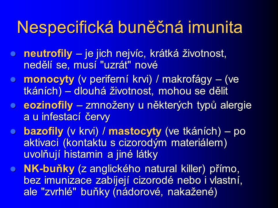 Nespecifická buněčná imunita