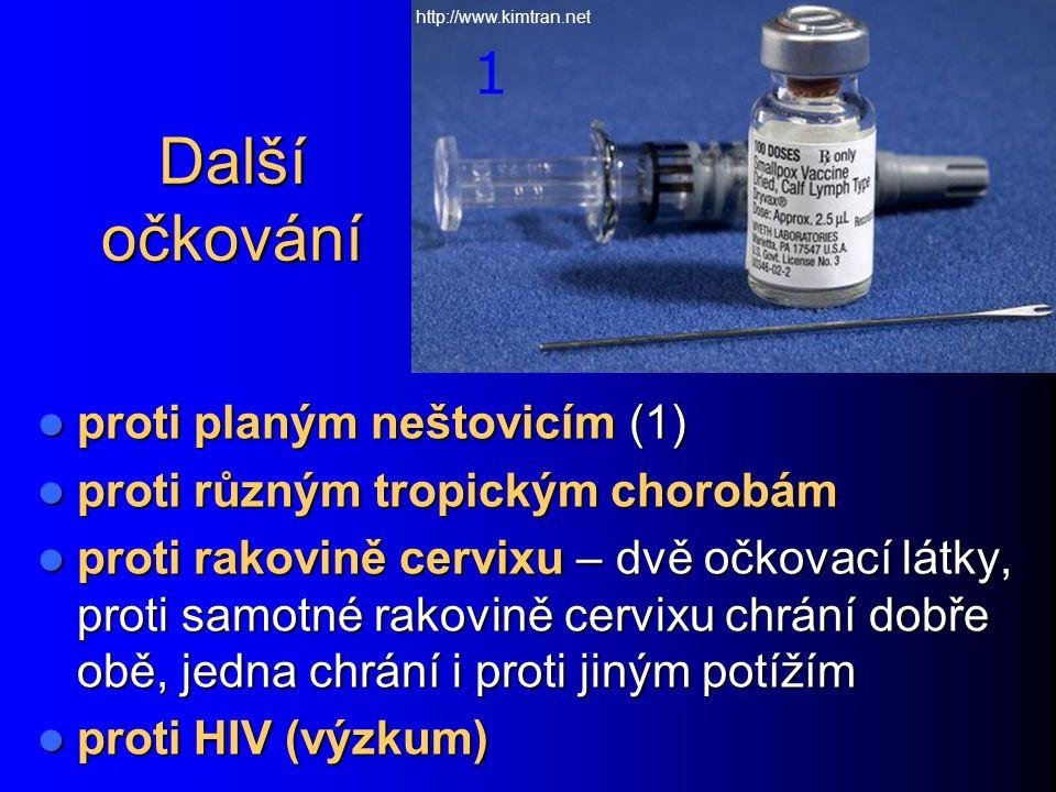 Další očkování 1 proti planým neštovicím (1)