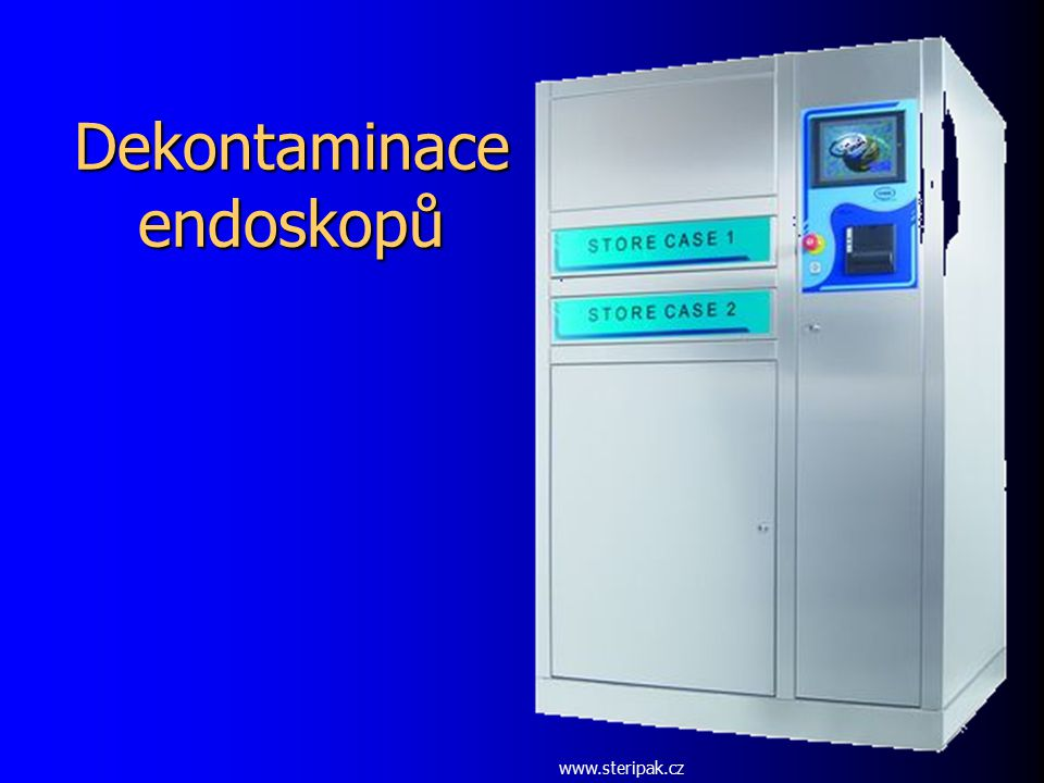 Dekontaminace endoskopů