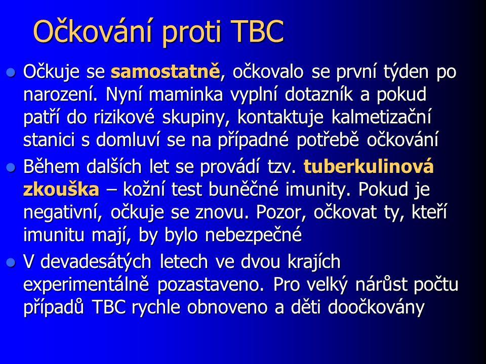Očkování proti TBC