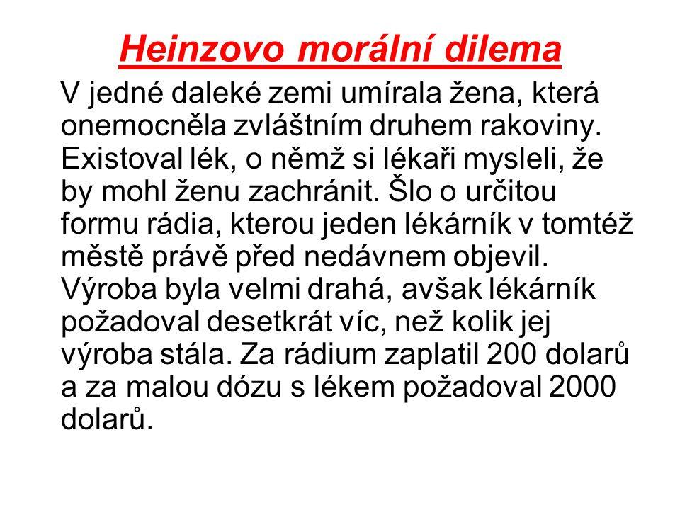 Heinzovo morální dilema