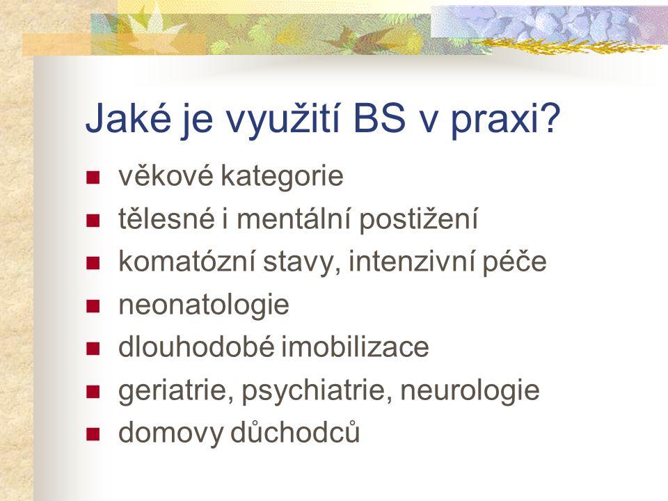 Jaké je využití BS v praxi