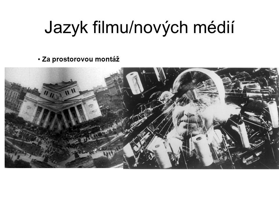 Jazyk filmu/nových médií