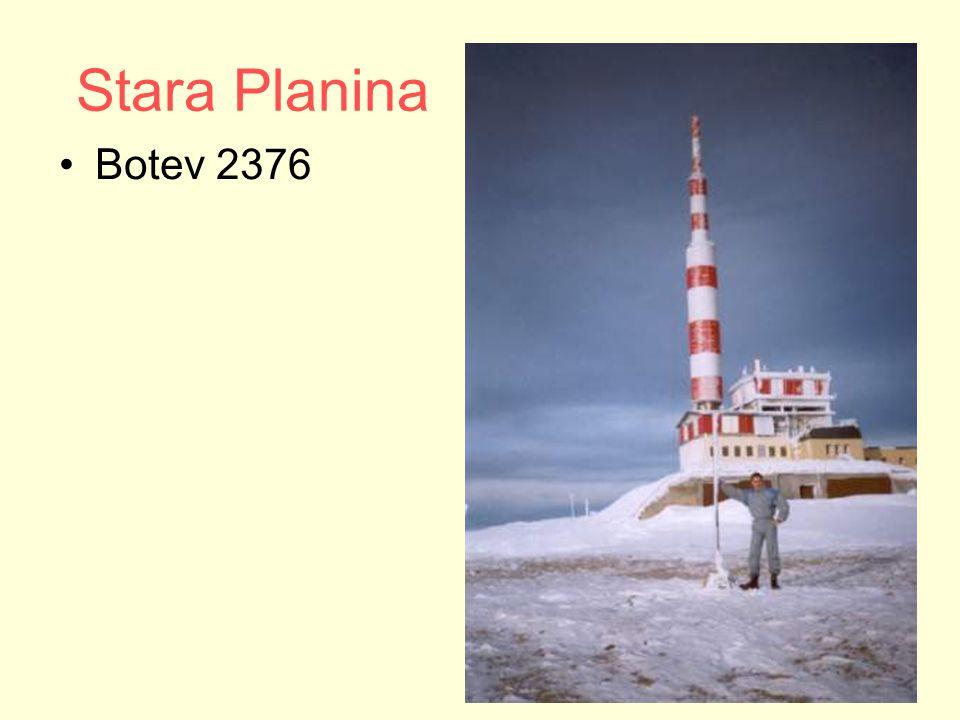 Stara Planina Botev 2376