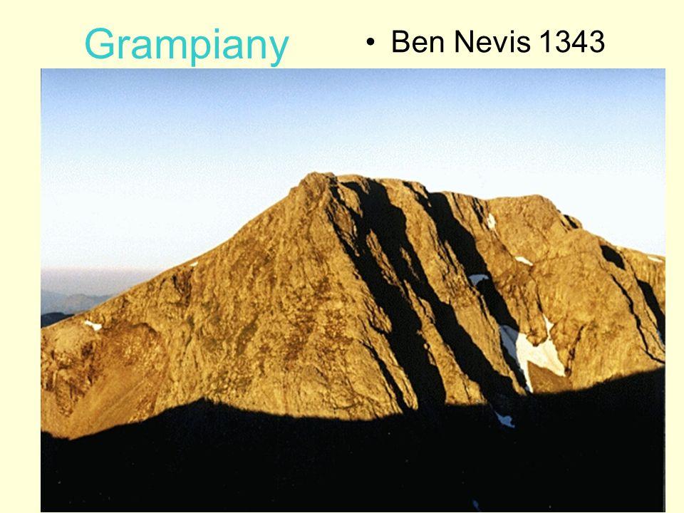 Grampiany Ben Nevis 1343