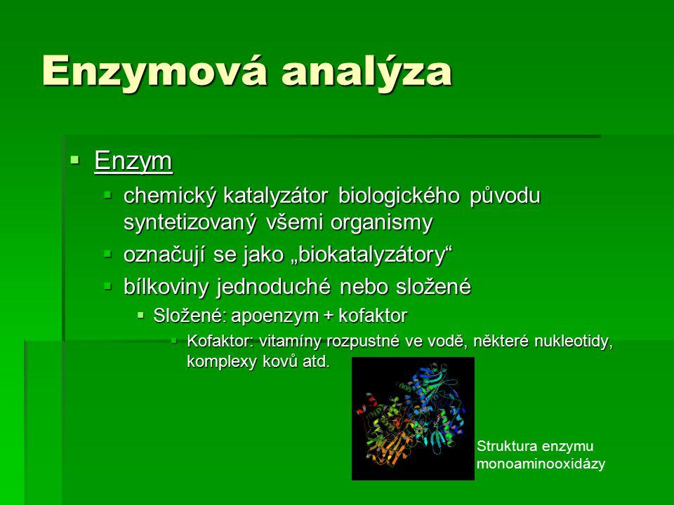 Enzymová analýza Enzym
