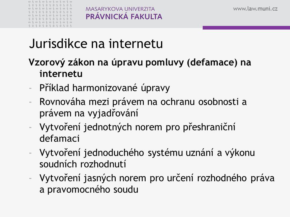 Jurisdikce na internetu