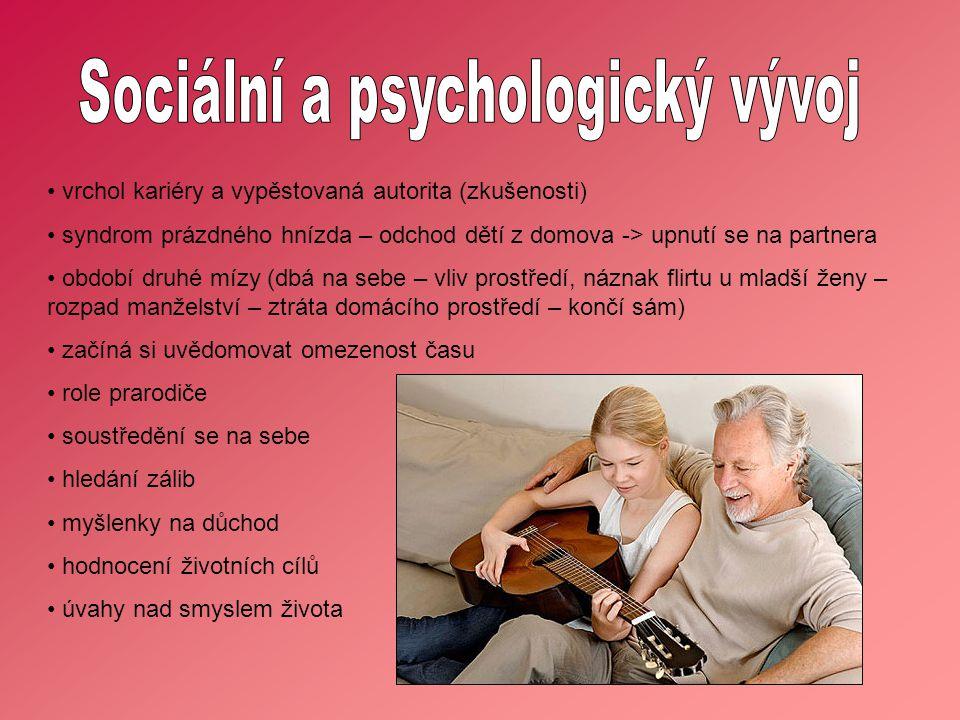 Sociální a psychologický vývoj