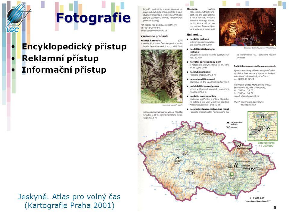 Jeskyně. Atlas pro volný čas (Kartografie Praha 2001)