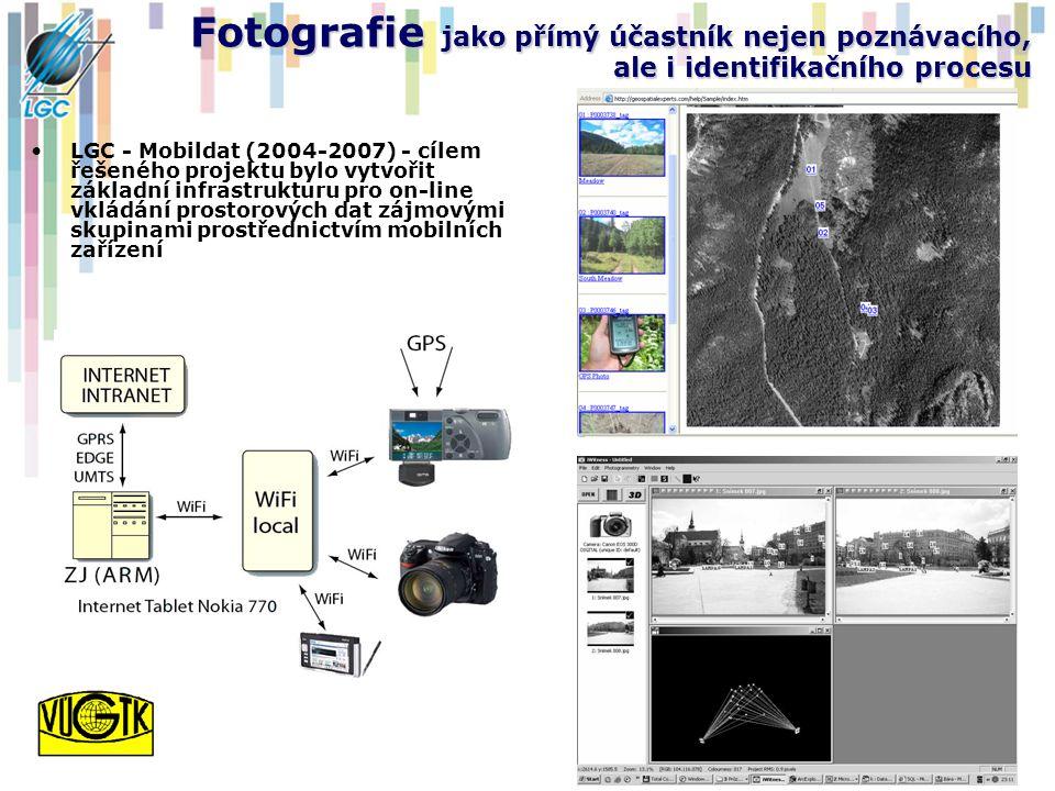 Fotografie jako přímý účastník nejen poznávacího, ale i identifikačního procesu