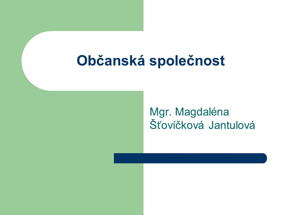 Mgr. Magdaléna Šťovíčková Jantulová