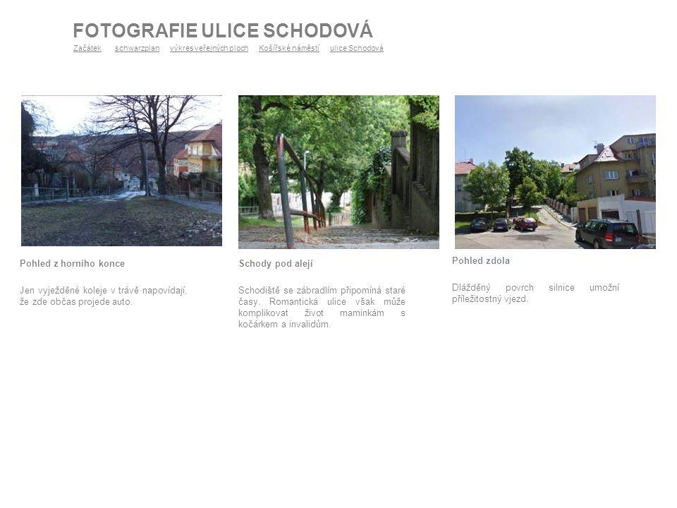 FOTOGRAFIE ULICE SCHODOVÁ