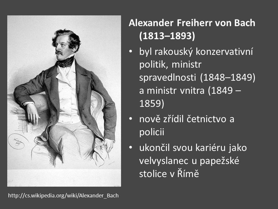 Alexander Freiherr von Bach (1813–1893)