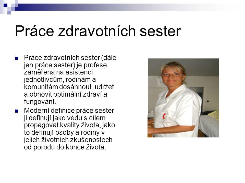 Práce zdravotních sester